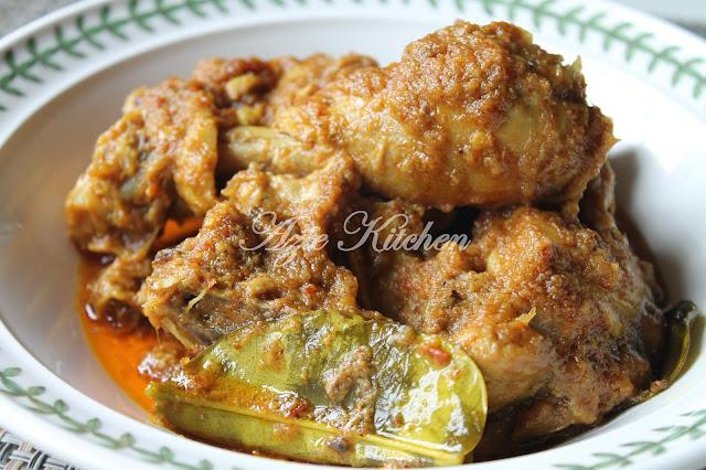 Rendang Ayam Mudah dan Sedap