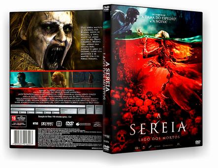 CAPA DVD – A Sereia Lago Dos Mortos – AUTORADO – CINEMA