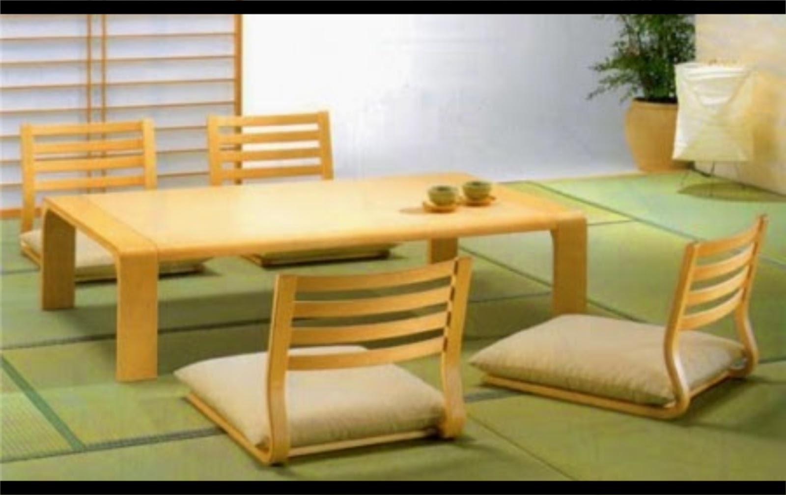Interior Ruang Tamu Minimalis Lesehan Sederhana