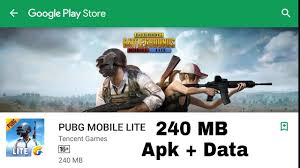 PUBG MOBILE LITE free Apk download