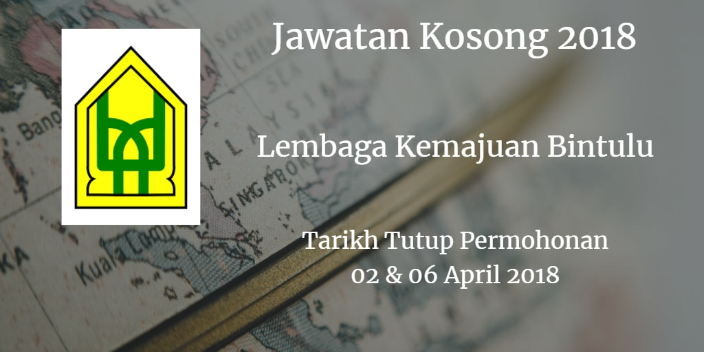 Jawatan Kosong BDA 02 & 06 April 2018