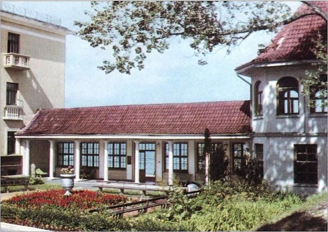 """Юрмала. Один из корпусов санатория """"Майори"""" (бывший санаторий """"Marienbāde"""") со стороны двора (фото Г. Костенко)"""
