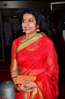 Suhasini in Designer dark Red Saree at 64th Jio Filmfare Awards South ~  Exclusive 009.JPG