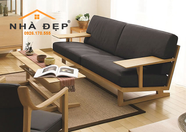 bọc nệm ghế sofa gỗ