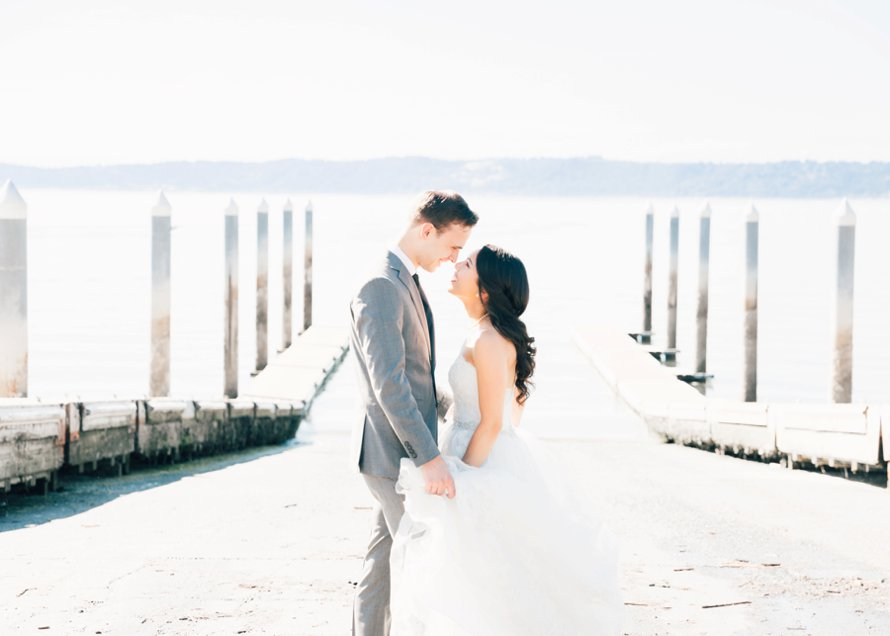 Redondo Beach Wedding | Pier Wedding | Romantic Beach Wedding by Something Minted Photography