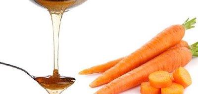 carrot honey mask for oily skin