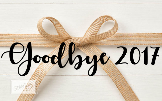 Jo's Stamping Spot - Goodbye 2017