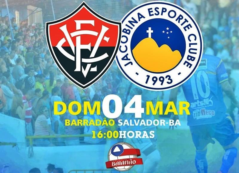 Assistir online Vitória x Jacobina ao vivo HD pelo Campeonato Baiano 1