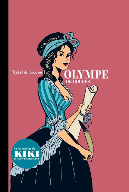 Olympe de Gouges, Cómic, Feminismo