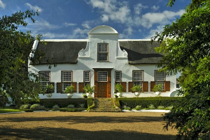 Stellenberg Gardens, fachada principal