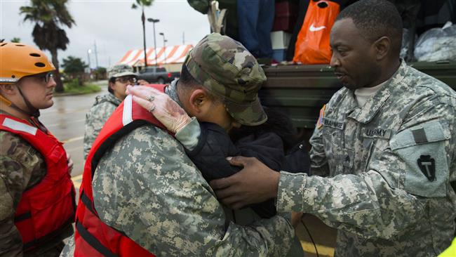 US National Guard Bureau ready to dispatch 30,000 military troops over Harvey