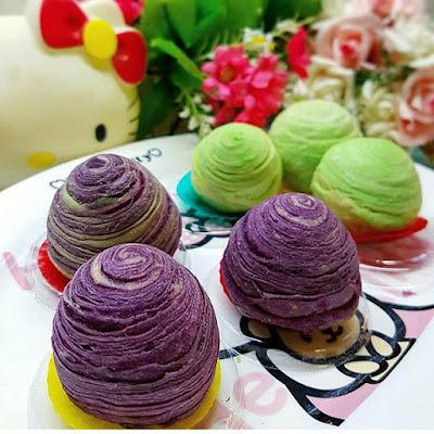 Tips Cara Membuat Aneka Kue Spiral Moon Cake Sederhana Resep Spiral Moon Cake Spesial