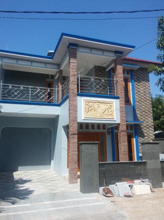 Model tiang teras rumah terbaru