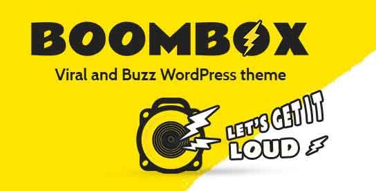 BoomBox 1.1.0 WordPress Theme