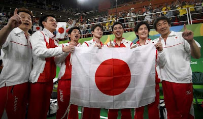 Japan Wins Gold Medal in Team Artistic Gymnastics at Rio Olympics