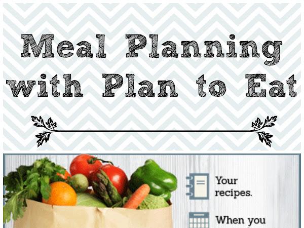 Get Organized // Menu Planning