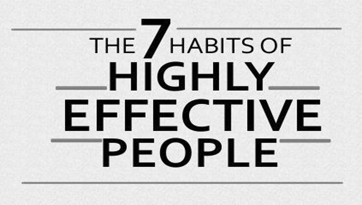 Idea for today The 7 Habits of Highly Effective People To Change