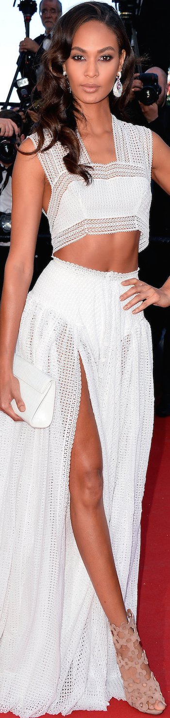 Joan Smalls 2015 Cannes Film Festival
