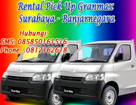 Rental Pick Up GranMax Surabaya-Banjarnegara