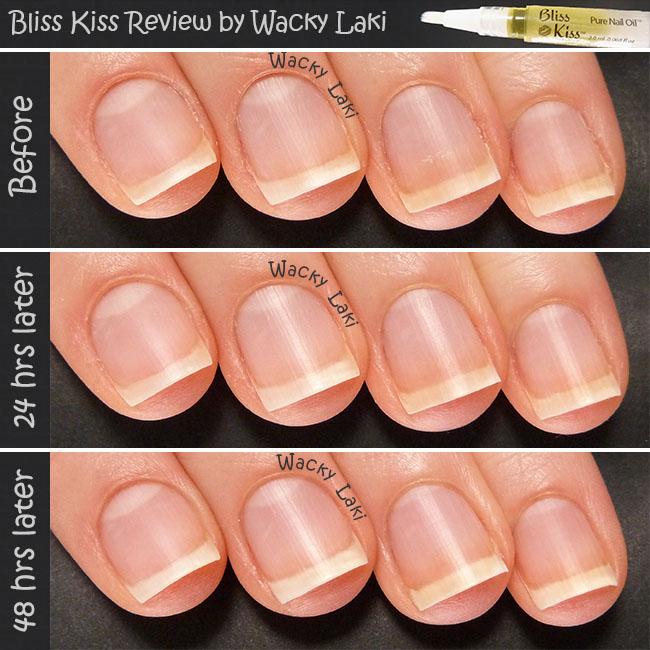 Wacky Laki Bliss Kiss Pure Nail Oil Review