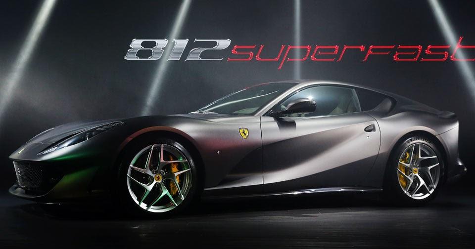 Ferrari 812 Superfast Touches Down In Australia