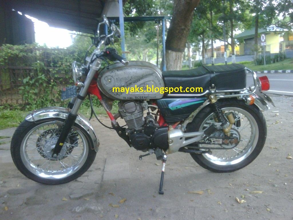 Modifikasi Honda CB Dream