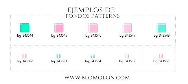ejemplos de fondos patterns