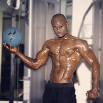 Photos: Meet Bimbo Akintola's Personal Trainer, Fitness Instructor Emodi Obinna
