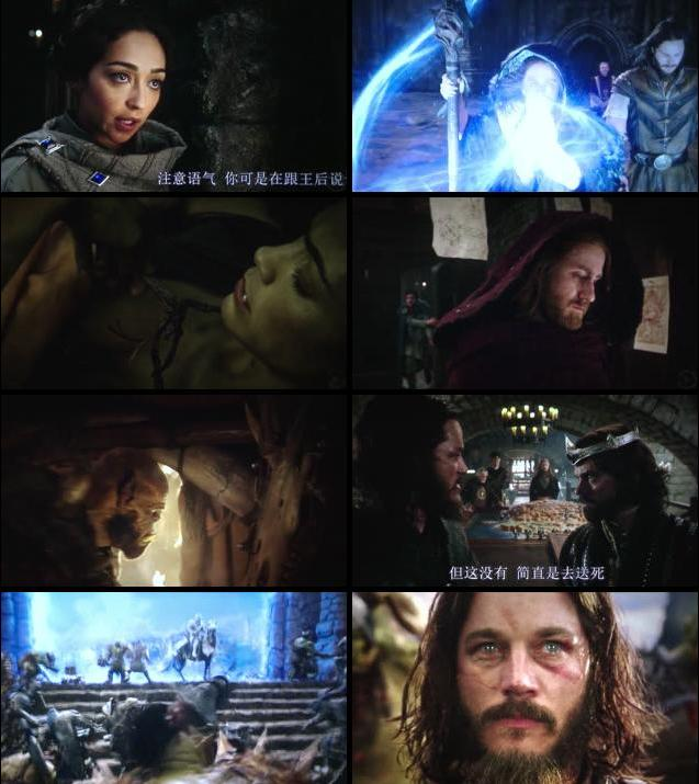 Warcraft 2016 Dual Audio Hindi 720p HDTC