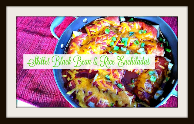 Skillet Black Bean and Rice Enchilada Recipe Budget Friendly and Healthy