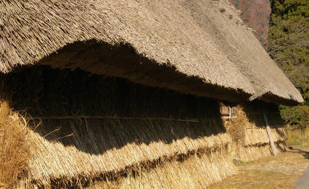 百姓 Hyakusho 五箇山 茅葺屋根 Japanese Thatch Roofing