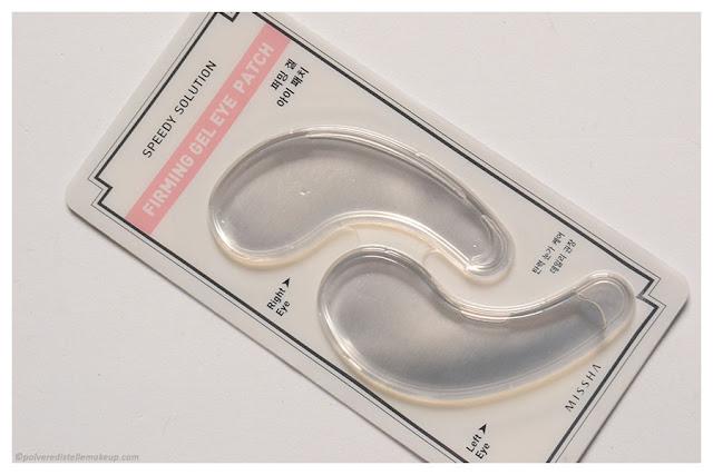 Speedy Solution Firming Gel Eye Patch Missha