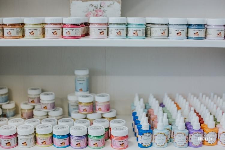 Hobby Place sklep dla kreatywnych farby i preparaty
