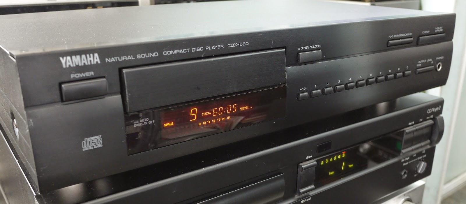 yamaha cdx 580 cd player audiobaza. Black Bedroom Furniture Sets. Home Design Ideas