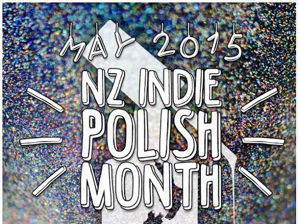 NZ Indie Polish Month: Star Kin - Glitter Wonderland Nail Polish Swatches & Review