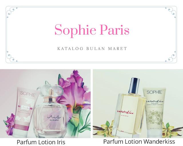 Parfum lotion Sophie Paris bikin percaya diri