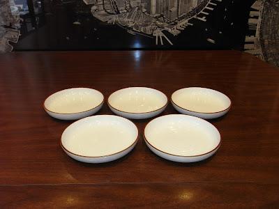 白山陶器 白磁千段 皿