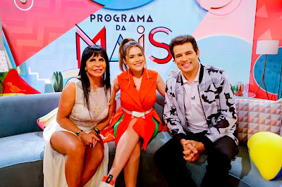 Gretchen, Maisa e Celso Portiolli. Crédito: Gabriel Cardoso/SBT