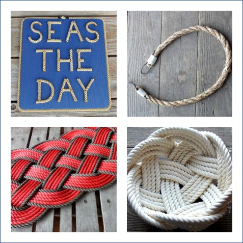 Handmade Nautical Rope Decor