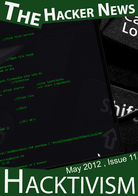 Hacktivism - The Hacker News Magazine - May 2012 Issue