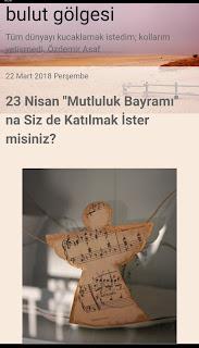 23 nisan- lösemili çocuklar
