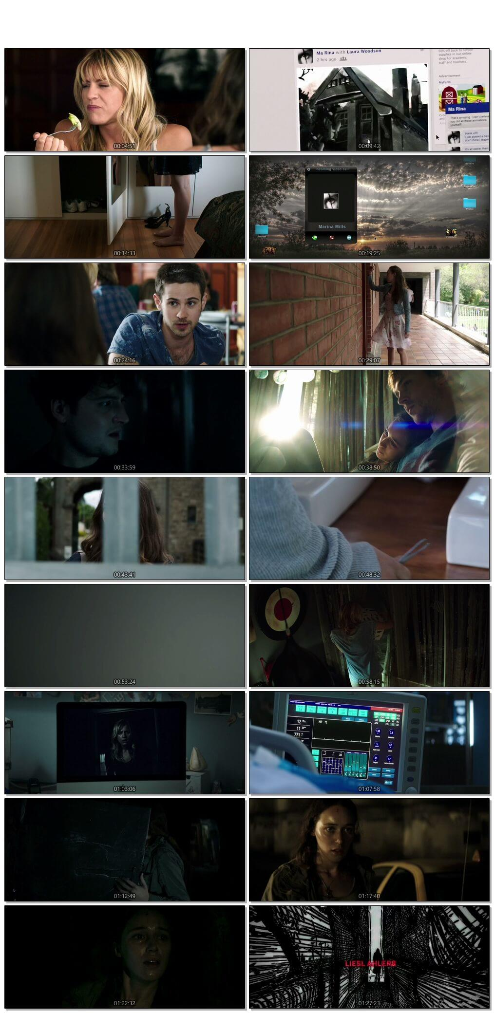 Screen Shot Of Friend Request 2016 300MB Full Movie Hindi Dubbed Free Download 720P BRRip HEVC