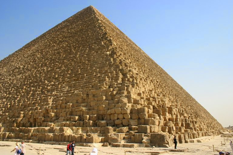 Mother Distracted:  The Great Pyramid