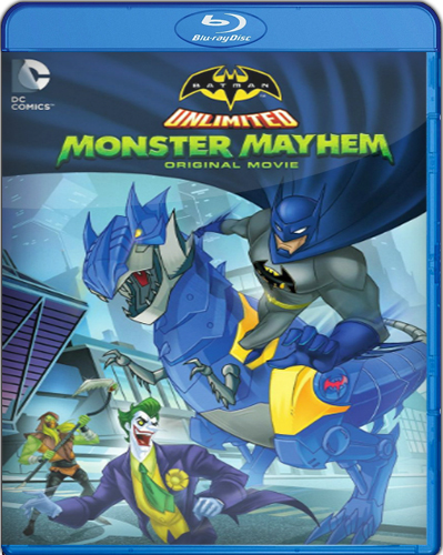 Batman Unlimited: Monster Mayhem [BD25] [2015] [Latino]