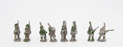 Grenadiers/Lights - Grenadier x 2 / Light infantry x 4 / Jagers x 2: