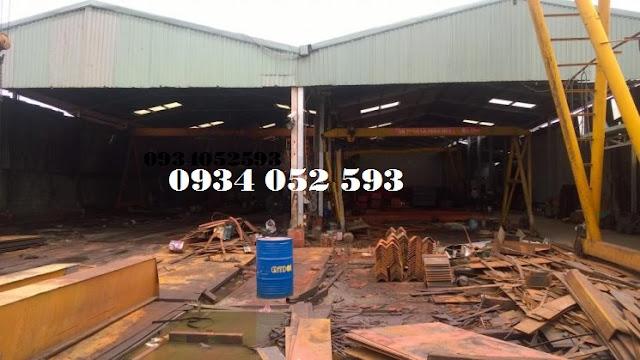 Cho thuê xưởng 2300m2 mặt tiền QL1A Quận 12