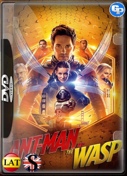 Ant-Man y la Avispa (2018) DVD5 LATINO/INGLES