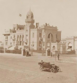 Sultana Melek's palace in 1915