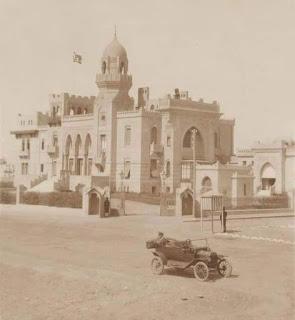 Sultana Melek's palace in 1915