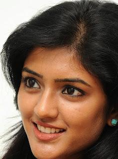 Beautiful Telugu Girl Eesha Rebba Smiling Face Close Up Stills (2)